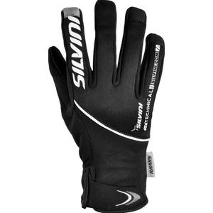 Men gloves Silvini ORTLES MA722 black-charcoal, Silvini