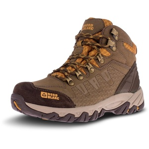 Women leather outdoor boots NORDBLANC Rugged lady NBHC88 FOS, Nordblanc
