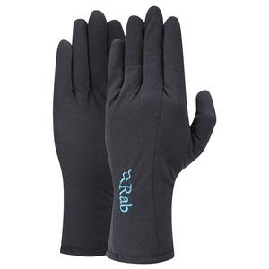 Gloves Rab Forge 160 Glove Women's ebony / eb, Rab