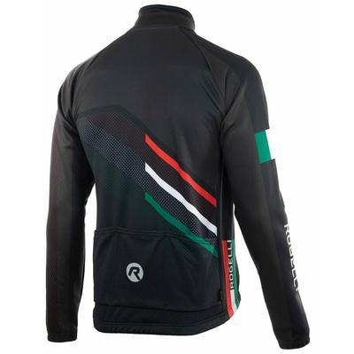 Membrane cycling jacket Rogelli TEAM 2.0, black 003.961, Rogelli