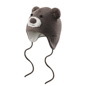 Toddlers cap Devold Bear Baby Beanie Brown GO 605 910 A 730A, Devold