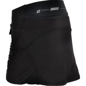 Women cycling skirt Silvini Invite WS859 black, Silvini