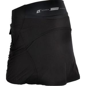 Women cycling skirt Silvini Invite WS859 black, Silvini