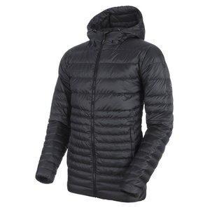 Men jacket Mammut Convey IN Hooded Jacket Men black phantom 00189, Mammut
