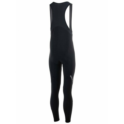 Strongly warm cycling pants Rogelli NERO with gel lining, black 002.900, Rogelli