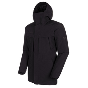 Men jacket Mammut Chamuera HS Thermo Hooded Parka Men black 0001, Mammut