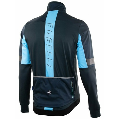 Ultralight cycling jacket Rogelli TRANSITION with no insulation, blue 003.061, Rogelli