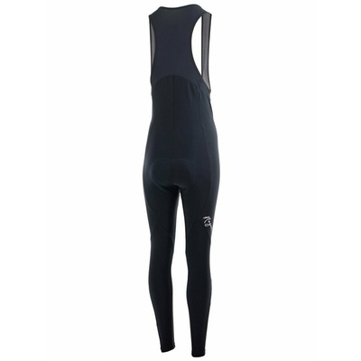 Women strongly warm bike bibs Rogelli NERO with gel lining, black 010.290, Rogelli