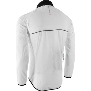Men ultra light jacket Silvini GELA MJ801 white-black, Silvini