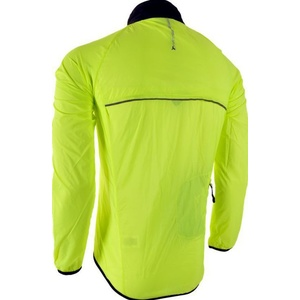 Men ultra light jacket Silvini GELA MJ801 neon-black, Silvini