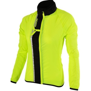 Women ultra light jacket Silvini GELA WJ802 neon-black, Silvini