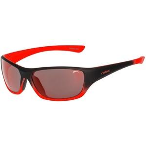 Children sun glasses RELAX Mona black orange R3066B, Relax