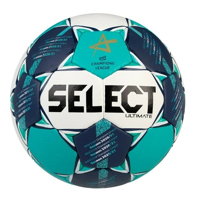 Ball for handball Select HB Ultimate CL Men white and green, Select