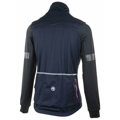 Ultralight women's cycling jacket Rogelli TRANSITION with no insulation, blue-pink 010.316, Rogelli