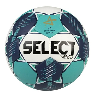Ball for handball Select HB Ultimate Replica CL men white and green, Select