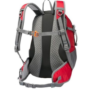Backpack Fjord Nansen Rago 28 black / red 44420, Fjord Nansen