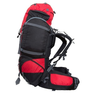 Backpack Fjord Nansen Vigda 50+10 red / black 40576, Fjord Nansen