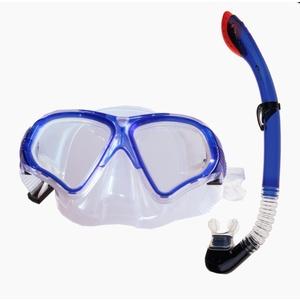 Set Spokey TORTUGA snorkel + goggles blue, Spokey
