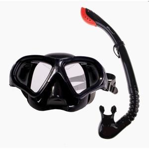 Set Spokey TORTUGA snorkel + goggles black, Spokey
