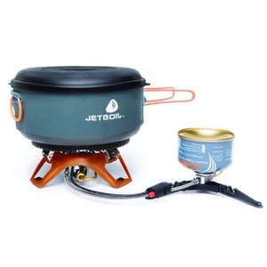 Cooker Jetboil Helios Guide set to cooking 2l, Jetboil