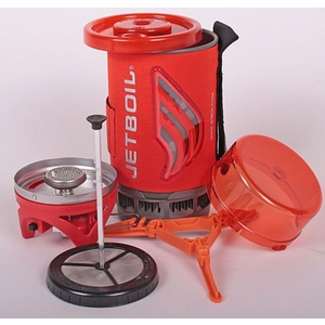 Cooker Jetboil Flash with coffee presse, Jetboil