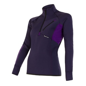 Women hoodie Sensor Tecnostretch purple 15200046, Sensor