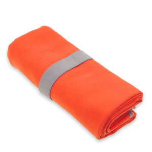 Quick-drying towel HIS color salmon L 50x100 cm, Yate