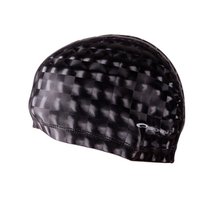 Swimming cap Spokey TORPEDO 3D black