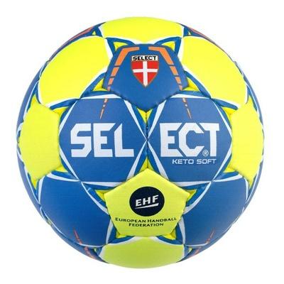Handball ball Select HB Keto soft yellow blue, Select
