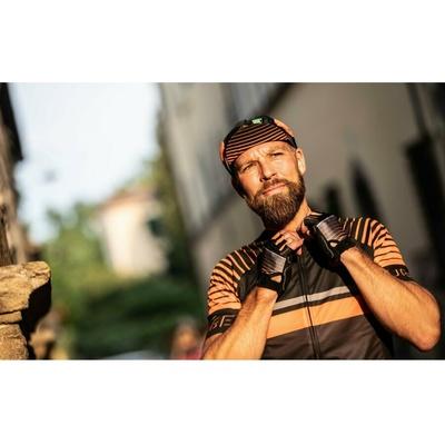Cycling gloves Rogelli HERO, black-orange 006.964, Rogelli
