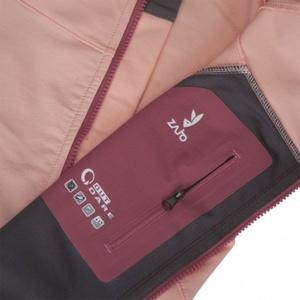 Jacket Zajo Air LT Hoody W JKT Seashell Pink, Zajo
