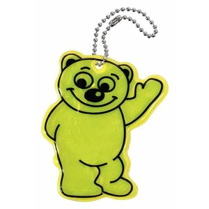 Pendant reflection BEAR S.O.R., Safety on Road