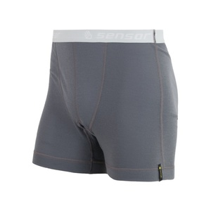 Men boxer shorts Sensor Double Face gray 16200049, Sensor