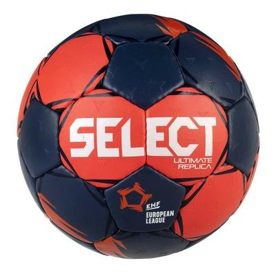 Handball ball Select HB Ultimate Replica EL red and blue, Select