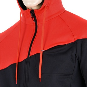 Men hoodie Sensor Tecnostretch black red 16200130, Sensor