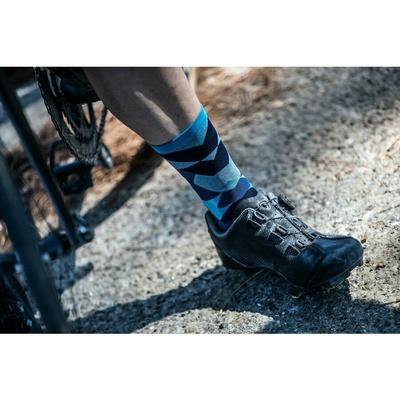 Design functional socks Rogelli SCALE 14, blue 007.154, Rogelli