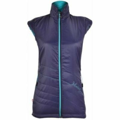 Women vest Silvini CONCA WJ1105 navy-turquoise