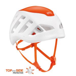 Climbing helmet PETZL Sirocco white-orange, Petzl