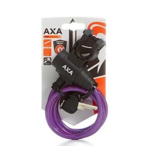 Lock AXA Zipp 120/8 key purple 59712096SC, AXA