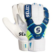 Goalkeepers gloves Select 03 Youth blue white, Select