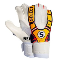 Goalkeepers gloves Select 22 flexi grip white orange, Select