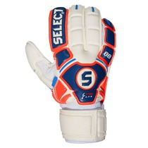 Goalkeepers gloves Select 88 Kids white blue, Select