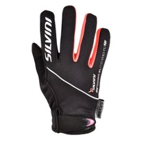 Children gloves Silvini Ortles CA1139 black-punch, Silvini