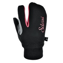 Children gloves Silvini TEXEL CA1140 black-punch, Silvini