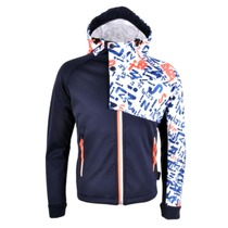 Children softshell jacket Silvini STRONA CJ1123 navy-punch, Silvini