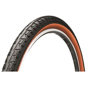 Tires Continental Tour Ride 28x1 3/8 black / brown 122298, Continental
