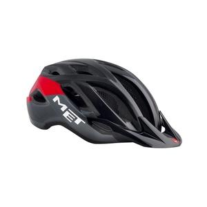 Helmet MET Crossover black / red, Met