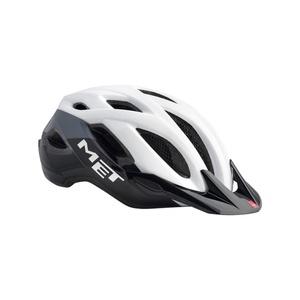 Helmet MET Crossover white / black, Met