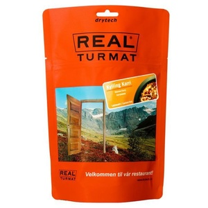 Real Turmat Chicken to curry with rice, 138 g
