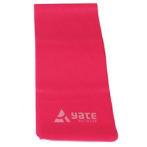 Exercise belt Fit Band 120X12cm, medium tough, pink, Yate